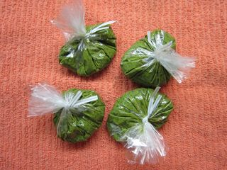 Pesto packets
