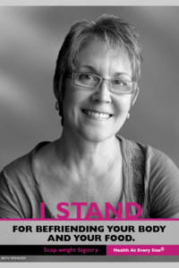 I STAND poster