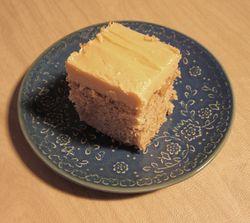 Spice cake slice